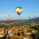 Rassemblement de montgolfières sur Annonay