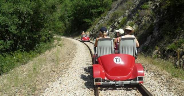 Vélorail – Descente des Gorges du Doux